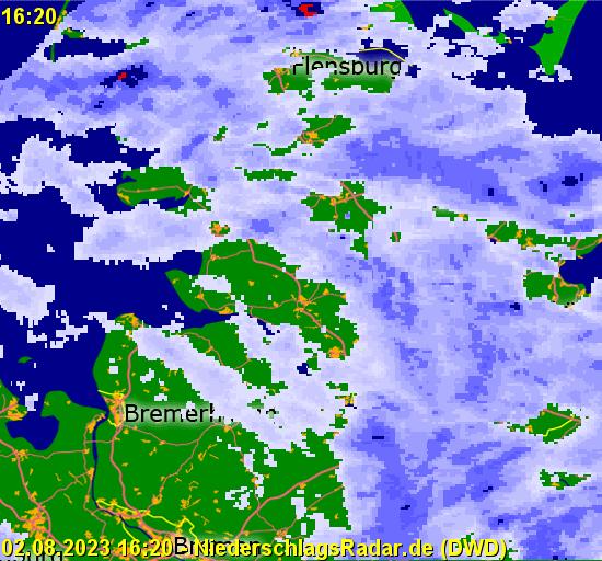 Radio Hamburg Regenradar